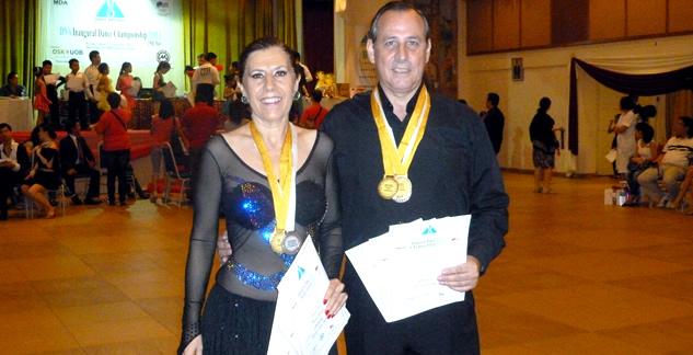 Alumnos de Global Dance ganan competición de baile en Malasia