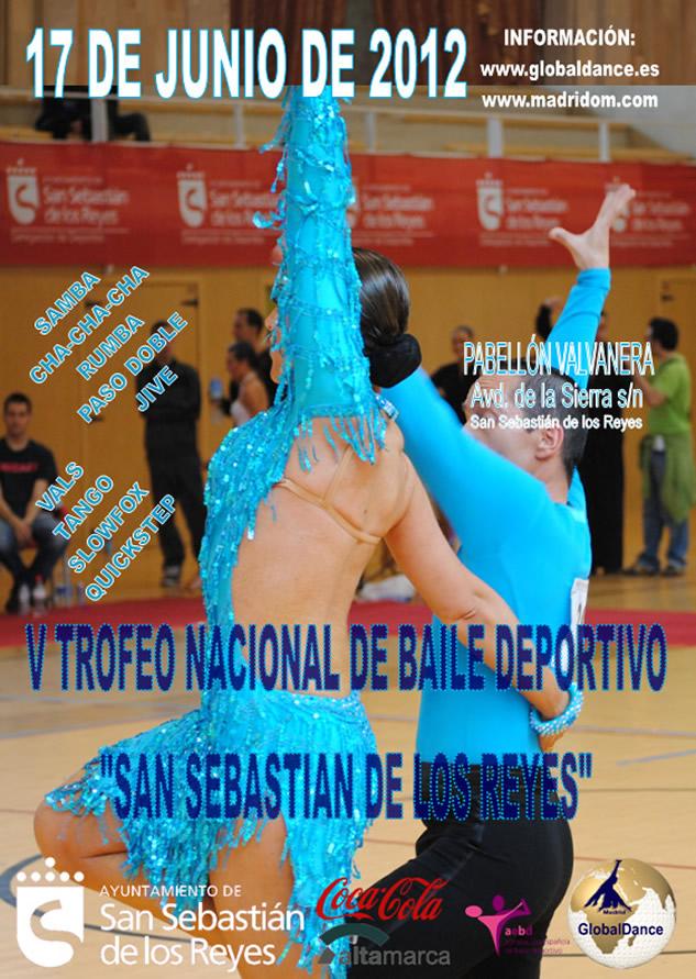 competicion de baile deportivo en madrid. 17 de junio de 2012