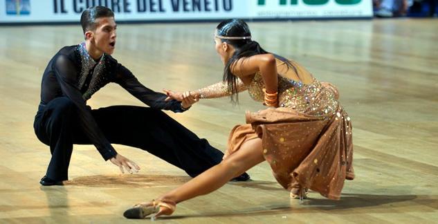 Global Dance juzga el Campeonato del Mundo Junior II Latinos 2013 en Italia