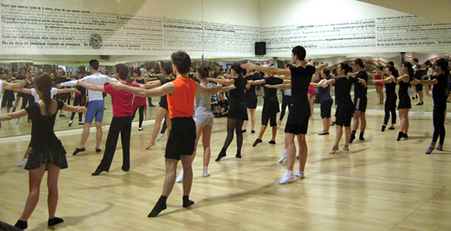 Talleres de ballet y expresión corporal