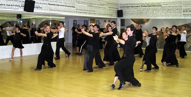 Talleres de técnica – bailes standard