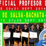 Cursos de Profesor SALSA ASSOCIATE (20 y 21 sept) y LICENTIATE (27 y 28 Sept) en Madrid
