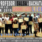 Curso de profesor de Salsa Associate.  28/02/2015 – Madrid