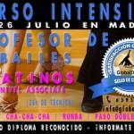 Curso de Profesor de Bailes Latinos – 25 y 26 Julio en Madrid
