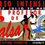 Curso de Profesor de Salsa Associate – 11 y 12 Julio en Madrid