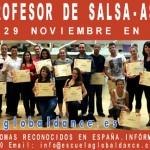 Curso de Profesor de Salsa – 28 y 29 noviembre en Madrid