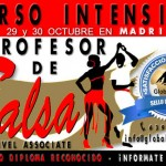 Curso de profesor de Salsa Associate – 29 y 30 Octubre 2016