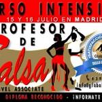 Curso de Profesor de Salsa – 15 y 16 julio