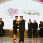 Global Dance juzga el WDSF Grand Slam Chengdu 2011 en China
