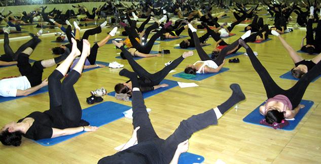Talleres de estiramientos, calentamiento y flexibilidad