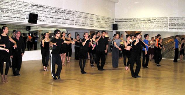 Talleres de técnica – bailes latinos
