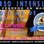 Curso de Profesor de Bailes Latinos – 1 y 2 Febrero en Madrid