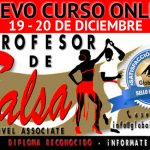 Nuevo Curso Online | Profesor de Salsa Nivel 1-Associate: 19 y 20 Diciembre