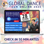 Global Dance Tour 2020 | Workshop internacional de baile deportivo Online – 28 Noviembre a las 15:00h (hora Madrid)